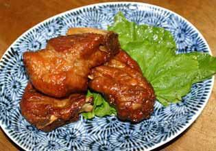 豚スペアリブの黒酢煮