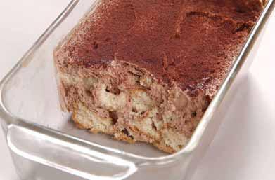 たまごパンでチョコケーキ