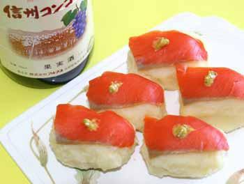 さもポテ寿司